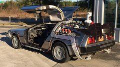 La DMC DeLorean modificata per Ritorno al Futuro 2
