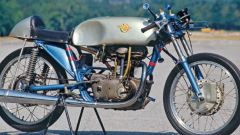 La Ducati 125 GP Desmodromica senza carenatura
