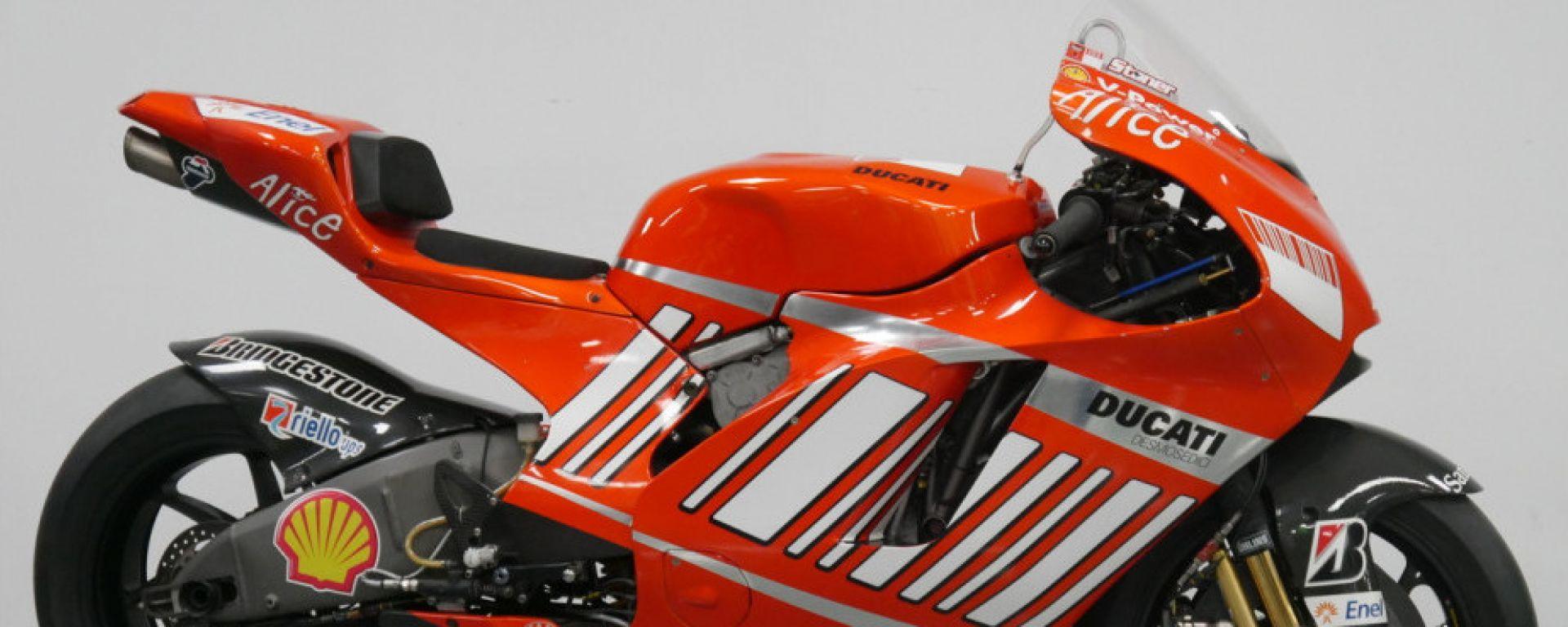 La Ducati Desmosedici GP8 in vendita su Motorrad Speer