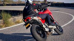 La Ducati Multistrada calza Pirelli Diablo Rosso IV
