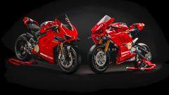 La Ducati Panigale V4 R affiancata al modellino Lego Technic