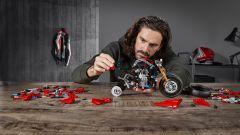 La Ducati Panigale V4 R di Lego Technic
