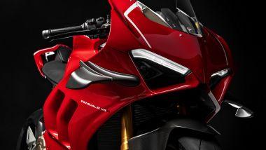 La Ducati Panigale V4 R , la prima con le alette aerodinamiche