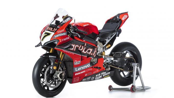 La Ducati Panigale V4 R SBK di Chaz Davies