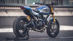 La Ducati Scrambler 1100 vincitrice della terza edizione della Custom Rumble