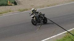 La Ducati Streetfighter in azione a Pergusa