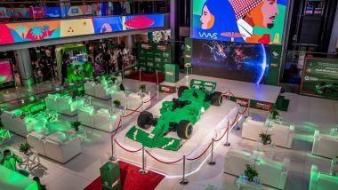 La F1 realizzata con mezzo milione di mattoncini LEGO