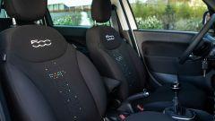 La famiglia 500 Hey Google: i sedili della 500L