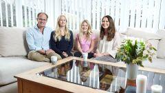 La famiglia Hain di Goteborg che prendono parte al programma Drive Me