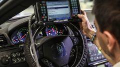 La fase di calibrazione del motore di Maserati GranTurismo Zéda