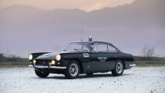 La Ferrari 250 GTE Polizia - foto di Tom Gidden, credit 'Girardo & Co.'