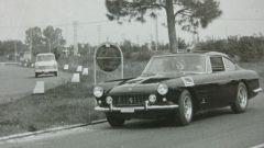 La Ferrari 250 GTE Polizia in una foto d'epoca - credit 'Girardo & Co.'