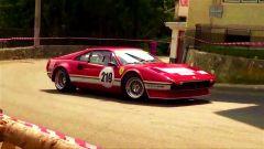 La Ferrari 308 Gruppo 4 del video