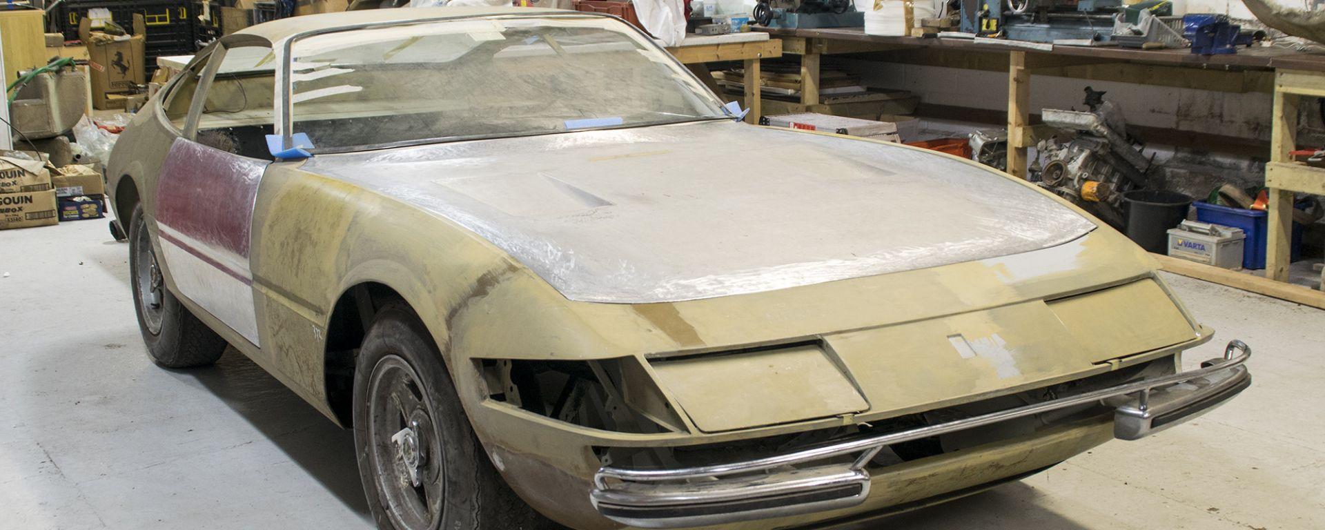 La Ferrari 365 GTB/4 Daytona da ricostruire