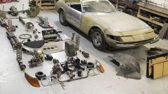 La Ferrari 365 GTB/4 Daytona e tutti i pezzi