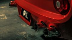 La Ferrari Breadvan Hommage by Niels van Roij Design, gli scarichi