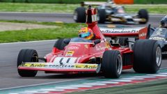 La Ferrari di Clay Regazzoni - Minardi Historic Day Imola