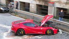 La Ferrari di Marchetti, le foto dell'incidente hanno invaso i social network