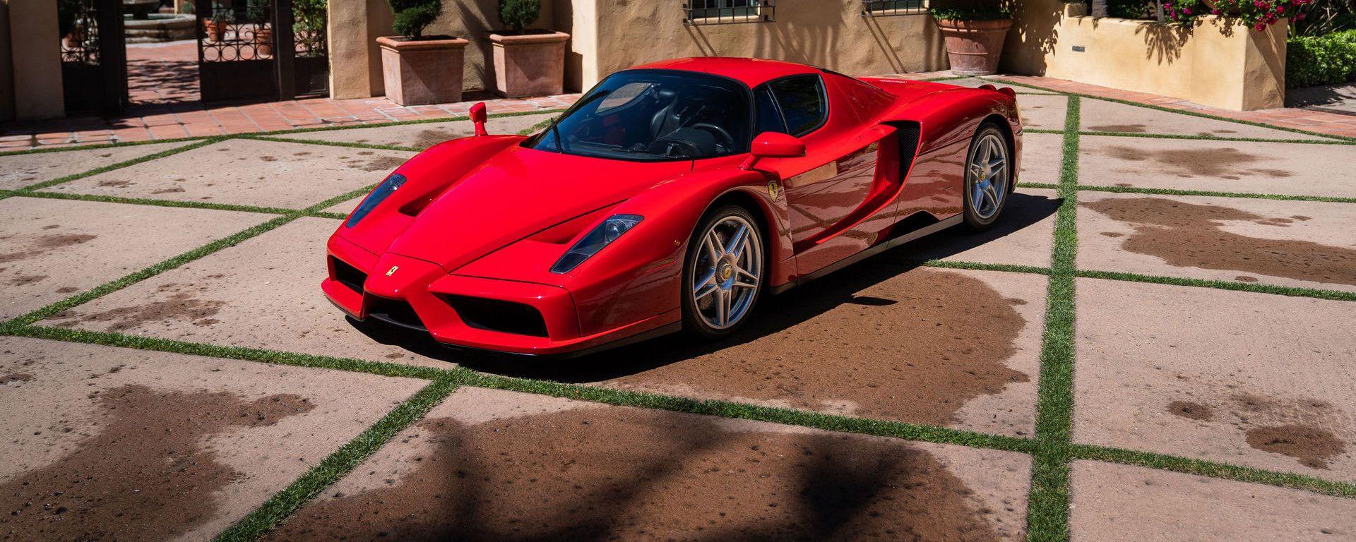 La Ferrari Enzo che ha battuto il record delle aste online