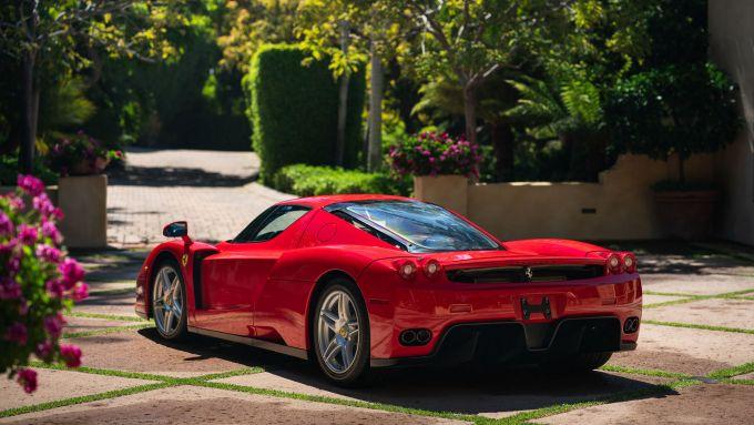 La Ferrari Enzo del record