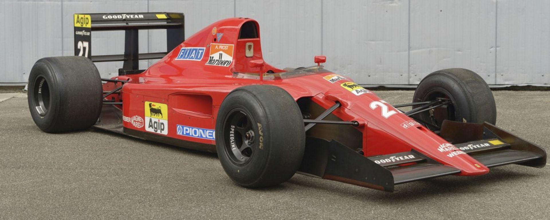 La Ferrari F1 di Prost e Alesi è all'asta fino al 27 settembre