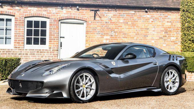La Ferrari F12 TdF di Jay Kay