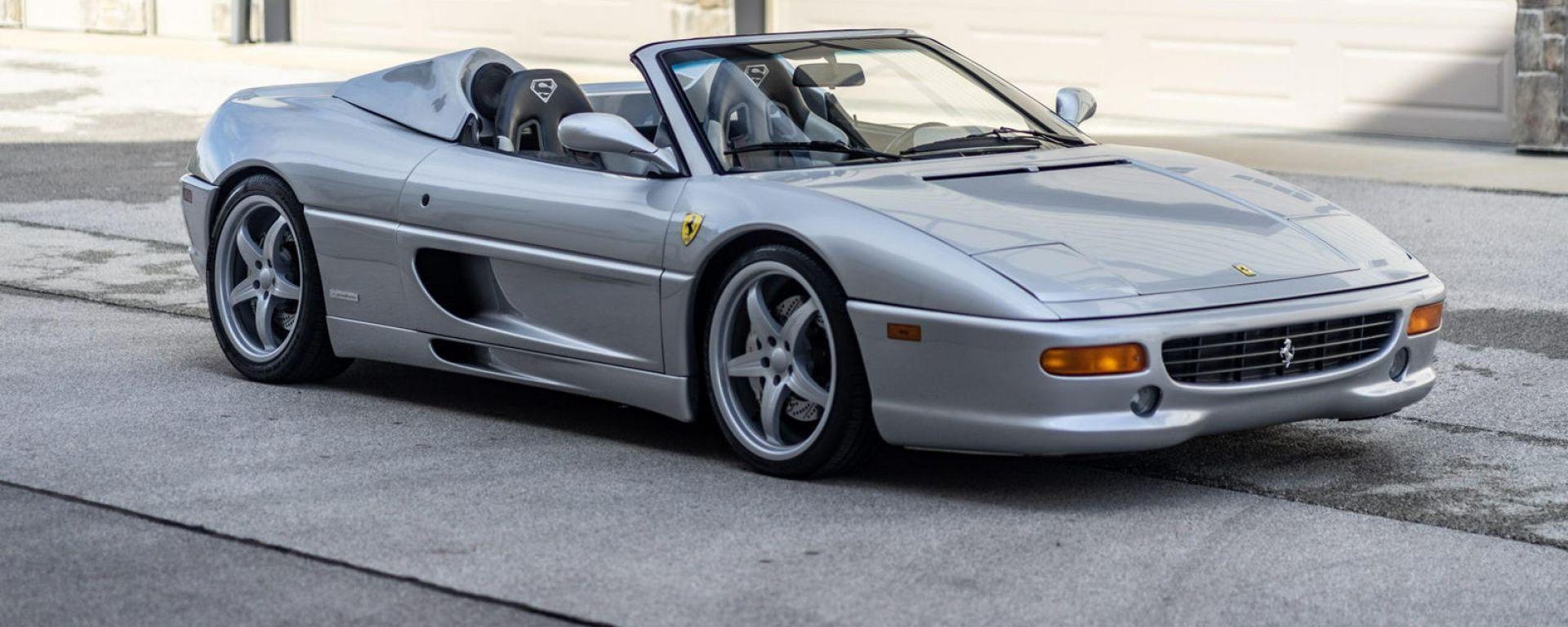 La Ferrari F355 Spider di Shaquille O'Neal all'asta