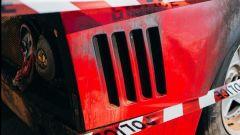 La Ferrari F40 bruciata a Monaco sembra uscita da un museo