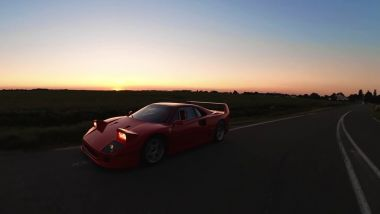 La Ferrari F40 di Drive N Slide