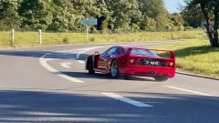 Ferrari F40 in drifting in un video POV da YouTube