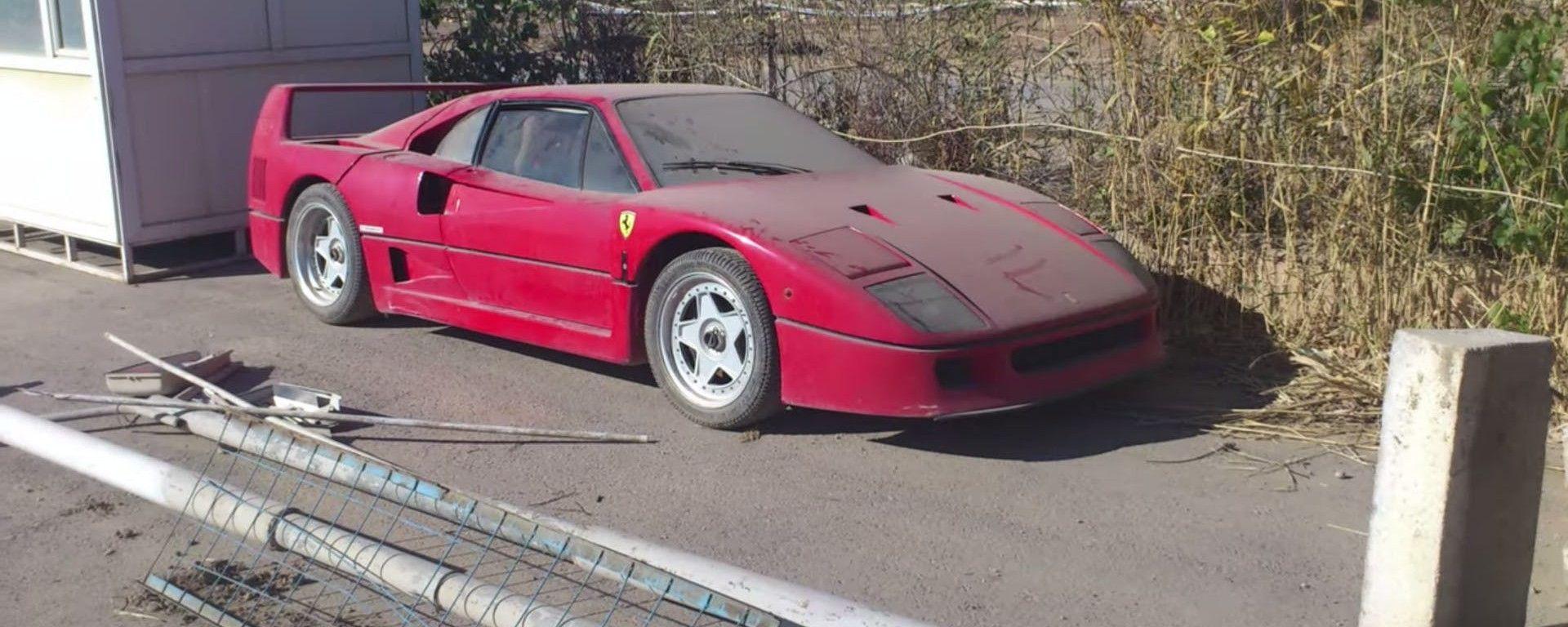 La Ferrari F40 in Iraq: forse appartenuta al figlio di Saddam