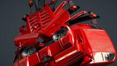 La Ferrari F40 reinterpretata da les83machines