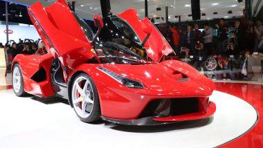 La Ferrari LaFerrari al salone di Shanghai