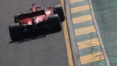 La Ferrari SF90 durante il Gp d'Australia F1 2019