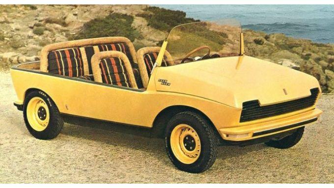 La Fiat 128 Teenager, un'idea per l'estate