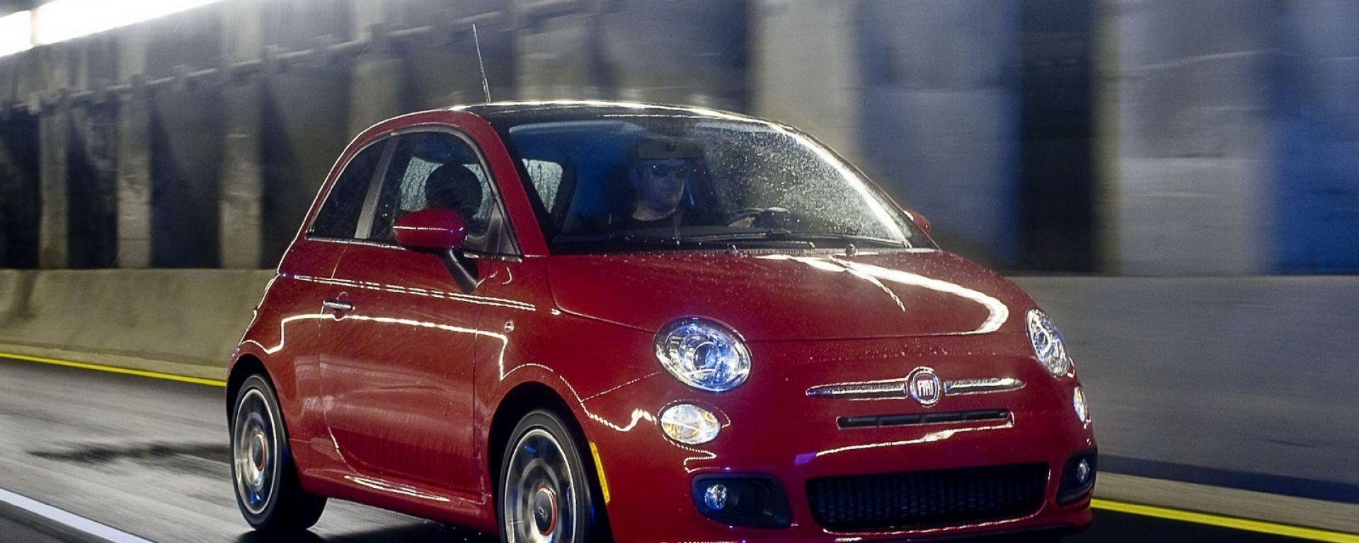 La Fiat 500 sbarca in Usa, con qualche modifica