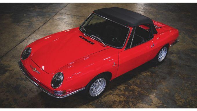 La Fiat 850 Abarth Spider