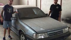 La Fiat Tempra trovata a Buenos Aires