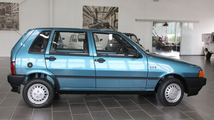 La Fiat Uno Fire in vendita in Germania