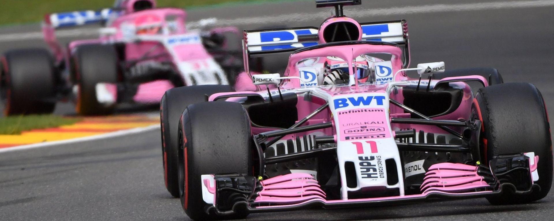 La Force India è solo l'ultima delle scuderie che hanno cambiato denominazione: dal 2019 si chiamerà Racing Point
