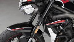 La forcella Showa Big Piston da 41 mm della Triumph Street Triple R 765