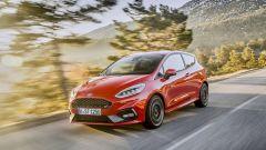 La Ford Fiesta ST 2018 è spinta da un 3 cilindri EcoBoost da 200 CV