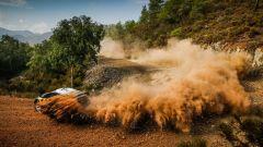 La Ford M-Sport di Evans