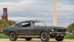 La Ford Mustang GT di Steve McQueen nel film Bullitt all'asta