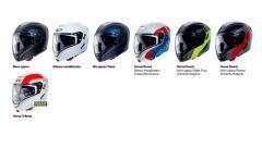 La gamma di livree disponibili per il casco Caberg Horus