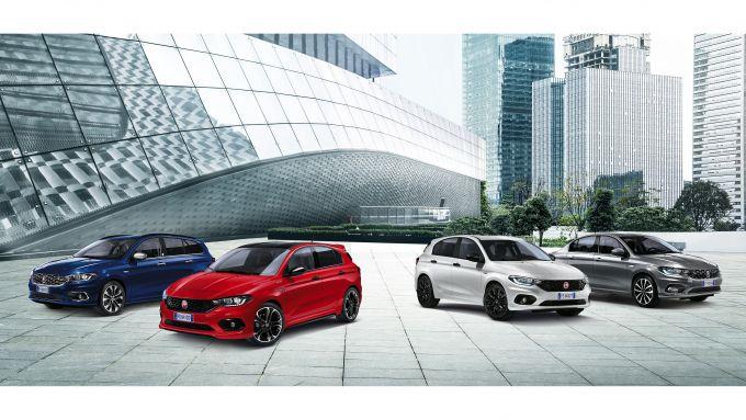 La gamma Fiat Tipo More attuale, lanciata a gennaio 2020