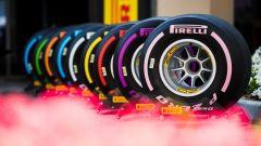 La gamma Pirelli P Zero F1