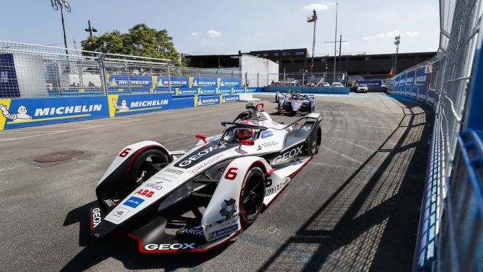 La Geox Dragon Racing in pista nell'ePrix di New York con Maximilian Gunther