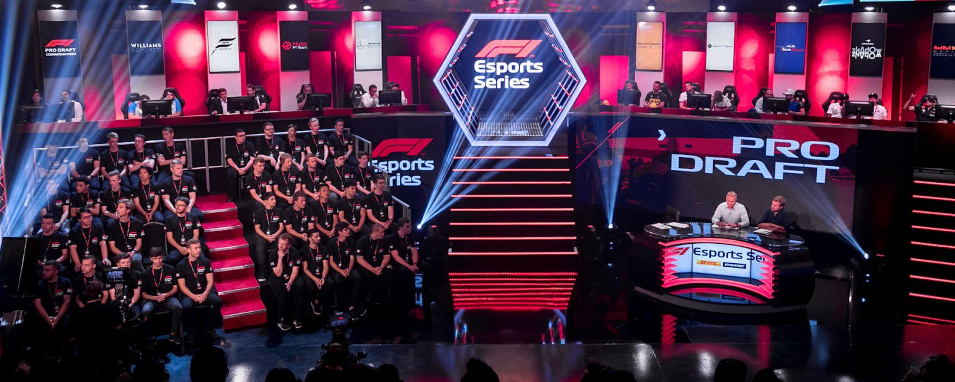 La Gfinity Arena di Londra pronta per il Pro Draft della F1 eSport Series 2019