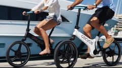 La GoCycle G3 in uso